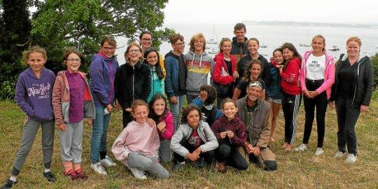 Le groupe des jeunes plongeurs et plongeuses - Le Télégramme