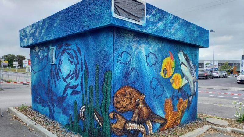 Graff transformateur Boulevard Charles de Gaulle